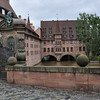 Another view of the Holy Ghost Hospital in Nuremberg.<br /> <br /> picture taken July 19, 2009