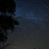 Star Trails, Garner State Park, Texas Hill Country, 11/2/2010