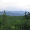 Snow in the mtns south of the St-Laurence river in july always impresses me.
