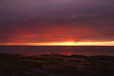 Sunset at Sainte-Anne-des-Monts, Taken in the village of Sainte-Anne-des-Monts, Gaspésie, Quebec, Canada