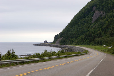 Route 132, Gaspesie, Quebec