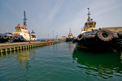 Three Tug Boats, One Lens (I wanted to see if I could fit all three into the shot with my Sigma 10-20mm)