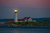 Lighthouse in Portland, ME. I had to shoot quite a few frames before I caught the light.