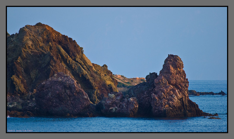 Another look at the cliffs at C. Tsounous, by Karave
