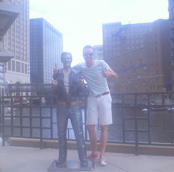 The Bronze Fonz, Milwaukee WI