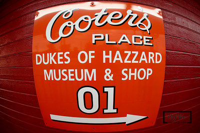 Cooter's Place: Dukes of Hazzard Musuem  © Copyright m2 Photography - Michael J. Mikkelson 2009. All Rights Reserved. Images can not be used without permission.