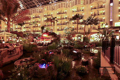 Gaylord Opryland Resort: Nashville Tennessee  Cascades  © Copyright m2 Photography - Michael J. Mikkelson 2009. All Rights Reserved. Images can not be used without permission.