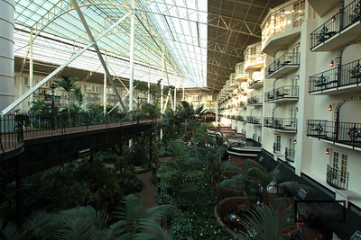 Gaylord Opryland Resort: Nashville Tennessee  Garden Conservatory  © Copyright m2 Photography - Michael J. Mikkelson 2009. All Rights Reserved. Images can not be used without permission.