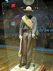 Confederate Soldier uniform at the Gettysburg Visitor Center