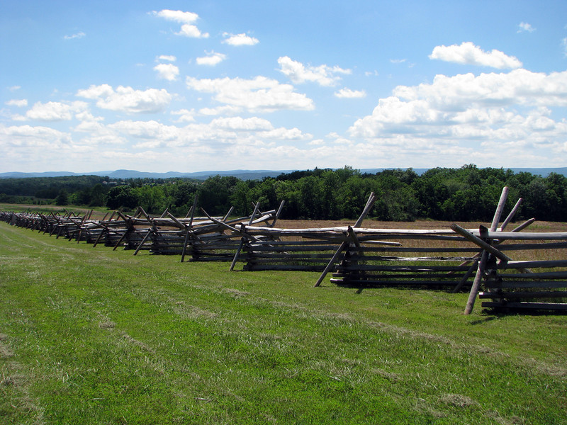Fence at Gettysburg