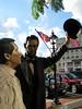 Lincoln statue in Gettysburg