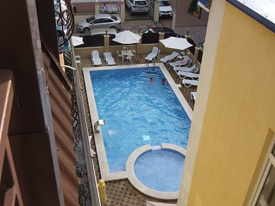 2016-07-20, View from our balcony at Prestige Hotel