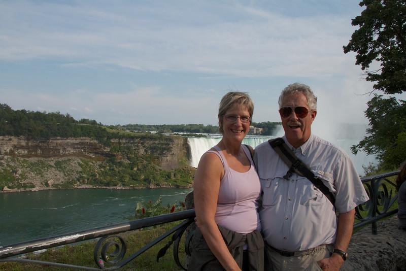 At Niagara Falls in 2013