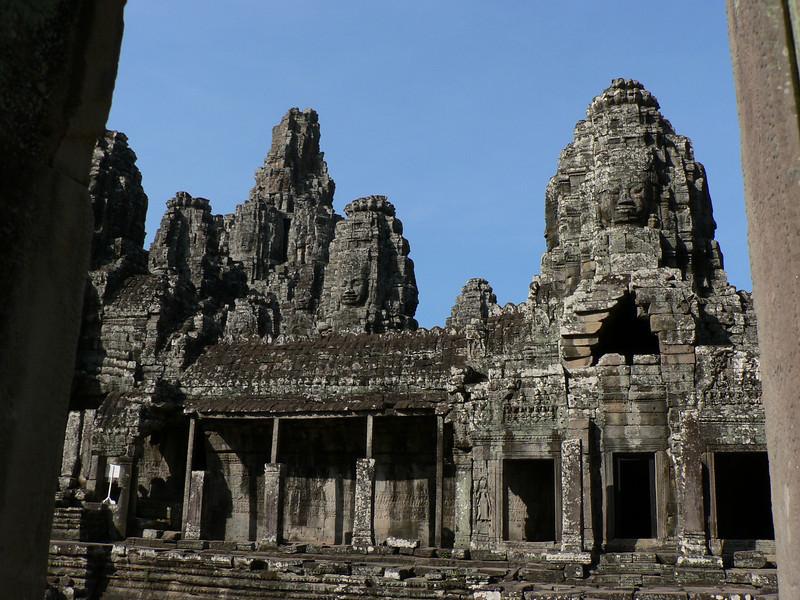 Bayon temple.