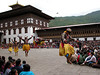 Many different ritual dances were performed.  Some with and some without masks.