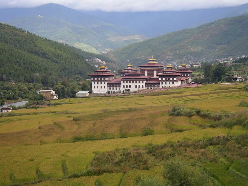 Bhut_177_ Thimpu Dzong