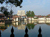Temple compound in Trivandum, the capital of Kerala.