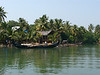 On the houseboat backwaters tour.