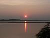 Sunset over the Mekong.