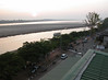 The Mekong at Vientian.  Dry season, very low water.