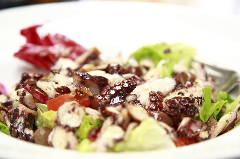 octopus salad,