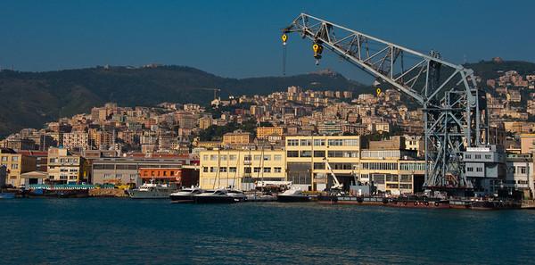 Genoa harbor