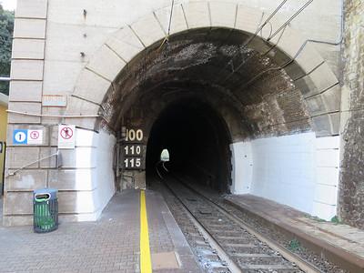 Aanleg Liguria lijn van 1860-1872