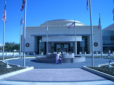 George Bush Library - College Station, Texas  - December 2004