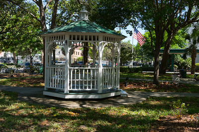Gazebo outide of Jackonville