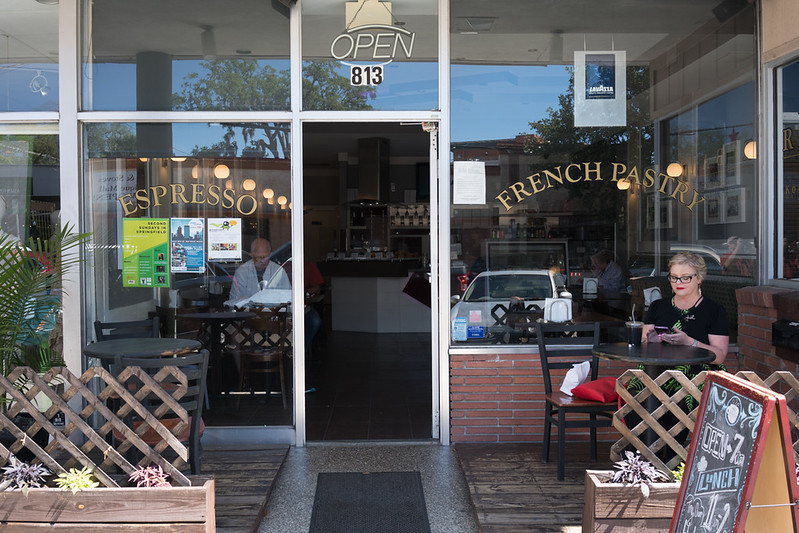 Local coffee and pastry shop
