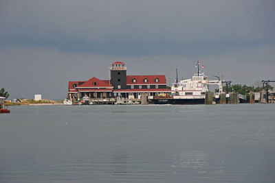 Ocracoke Harbor - Coast Guard Station