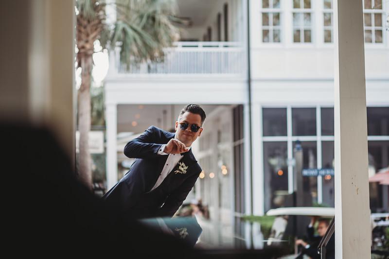 The groom wears shades #torontophotographer #jesskosphoto #lowcountrywedding