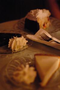Dessert at Intermezzo