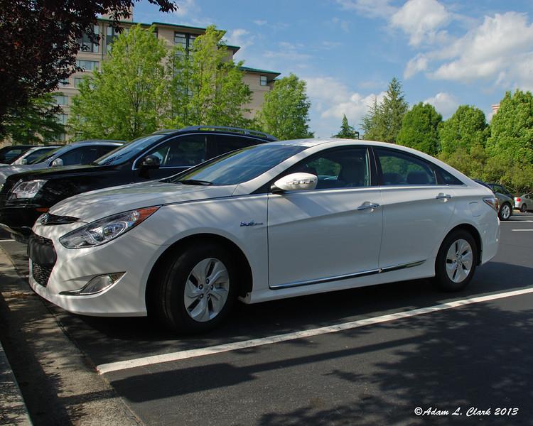 My rental car.  Hybrid Hyundai Sonata