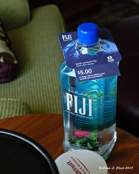 Care for a $5 liter of water?  No, me either