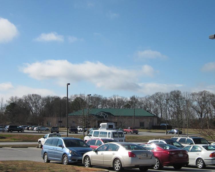 Oconee County Senior Center - Looking From Community Center