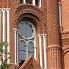 Beautiful Architecture of Sacred Heart Cultural Center Built in 1900 - a Former Catholic Church - Augusta, GA - May 14, 2010