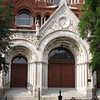 Entrance - Sacred Heart Cultural Center Built in 1900 - a Former Catholic Church - Augusta, GA - May 14, 2010
