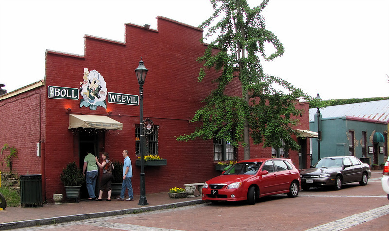 Loads of Downtown Dining in Restored Buildings - Augusta, GA - May 14, 2010