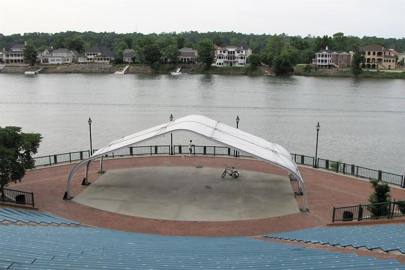 Ampitheater on Riverwalk - Augusta, GA - May 14, 2010