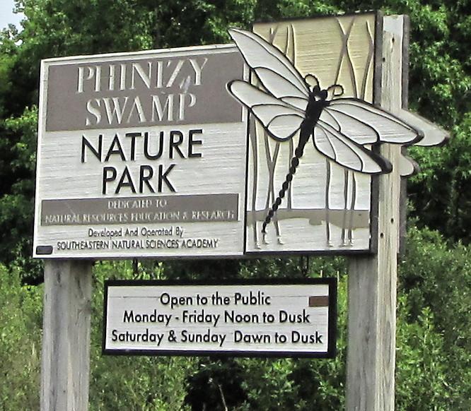 Signaage - Phinizy Swamp Nature Park - Augusta, GA