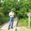 Randal Studying the Map - Phinizy Swamp Nature Park - Augusta, GA