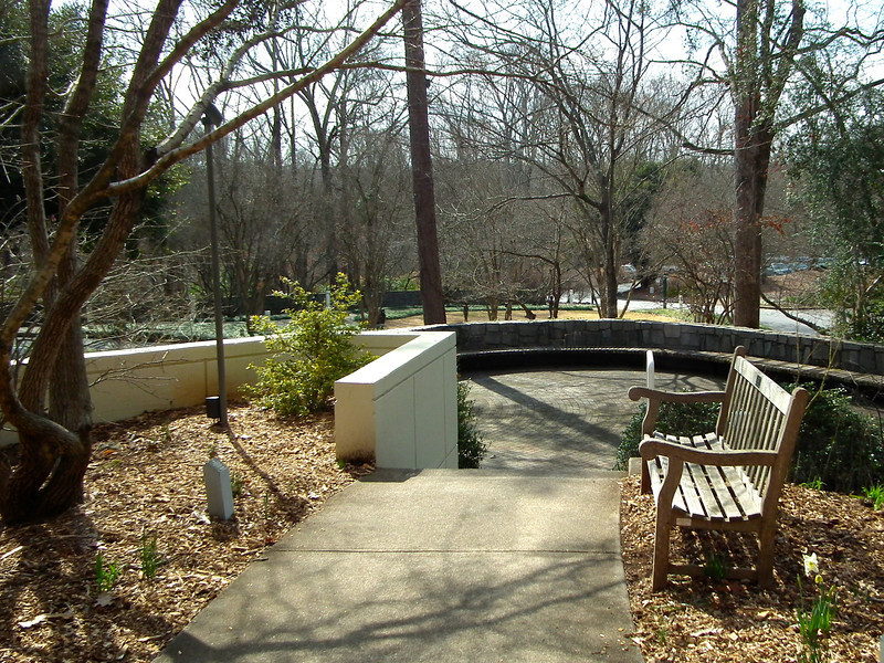 Place to Rest and Soak Up The Peace - State Botanical Garden of Georgia - Athens, GA  2/10/13