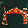 Gingerbread House - Night Train Ride Through Christmas Lights - Callaway Gardens, Pine Mountain, GA  12-25-96