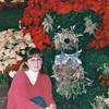 Donna with Teddy Bear - Callaway Gardens, Pine Mountain, GA  12-25-96