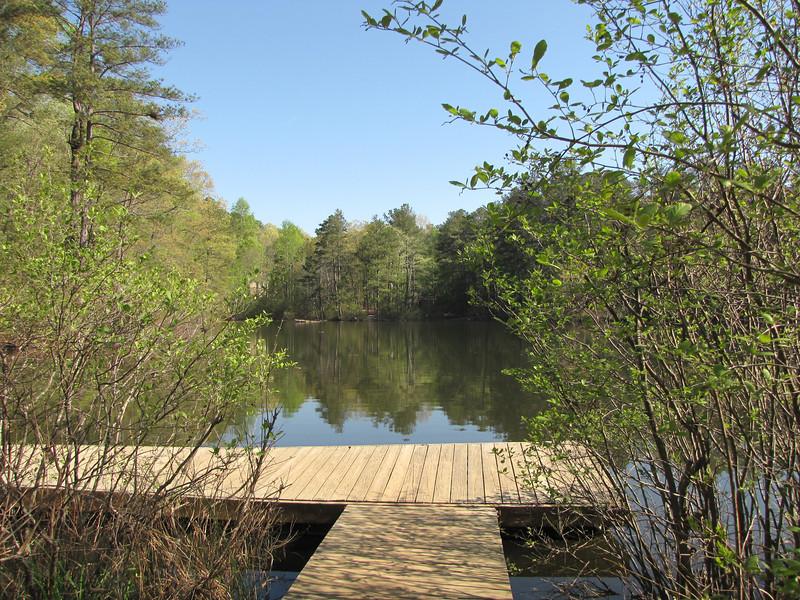 Lake at Chattahoochee Nature Center, Roswell, GA