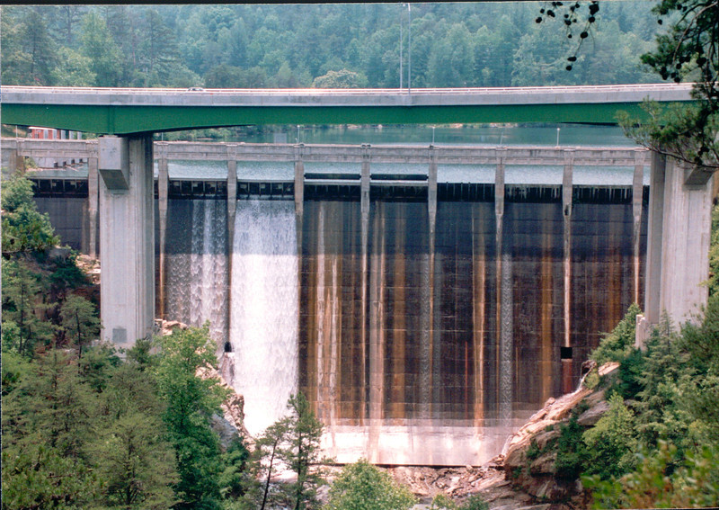 Terrora Park on The Toccoa River - Dam Maintained by Georgia Power  6-4-94