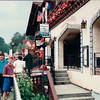 Randal and Ben in Shopping Area - Helen, GA  6-11-94