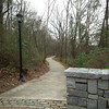 Almost 4 Miles of Paved Trail - North Oconee River Greenway Heritage Trail - Athens, GA  2/8/13