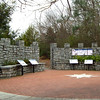 Plaza With Signage - North Oconee River Greenway Heritage Trail - Athens, GA  2/8/13